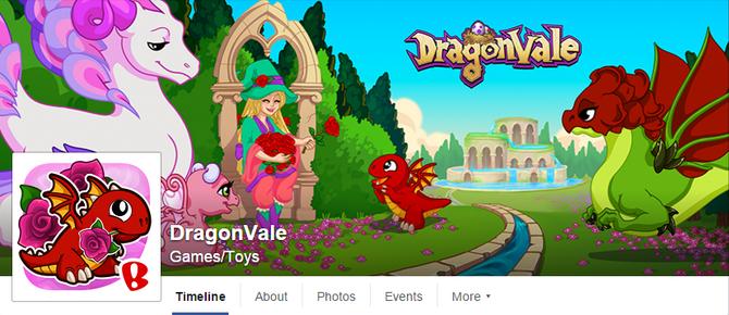 DragonVale-FBHeader-GardeniaRoses