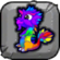 Rainbow Dragon Baby Icon