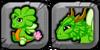 Clover Dragon Icon