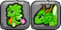 Clover Dragon Icon