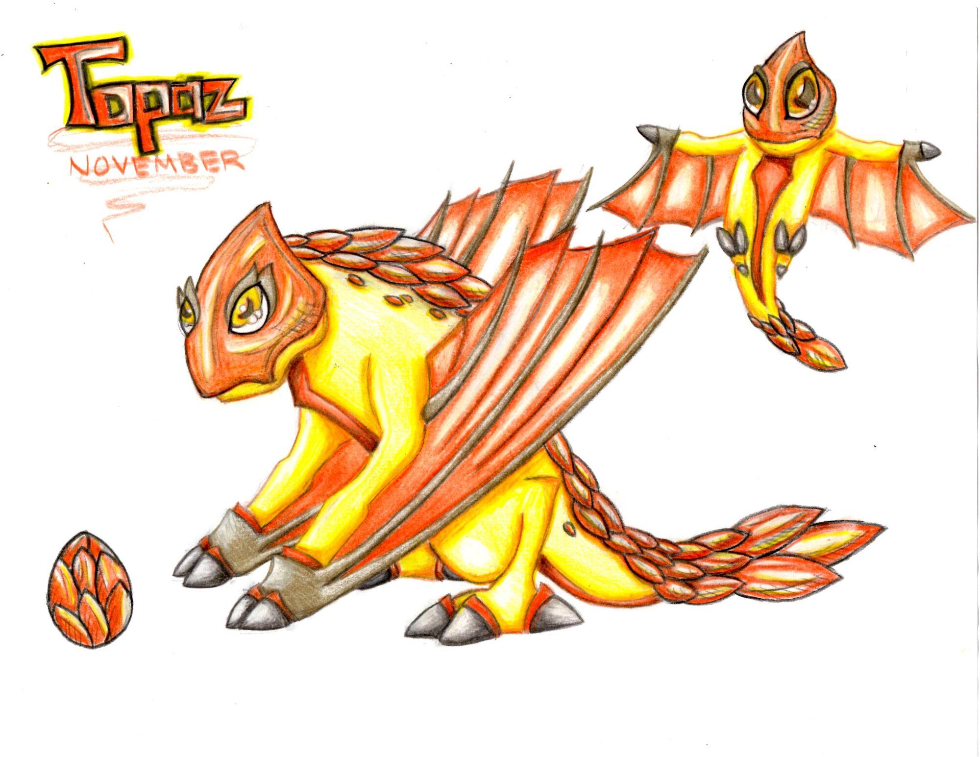 Image - WTL Topaz Dragon.jpg   DragonVale Wiki   FANDOM