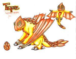 WTL Topaz Dragon