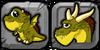 Cyclops Dragon Icon