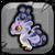 Smoke Dragon Baby Icon