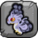 Smoke Dragon Baby Icon