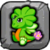 Clover Dragon Baby Icon
