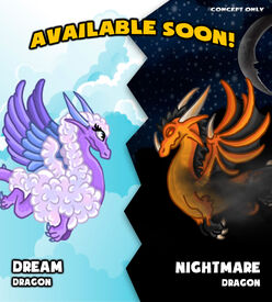 Dream and Nightmare Concept