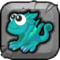Swamp Dragon Baby Icon