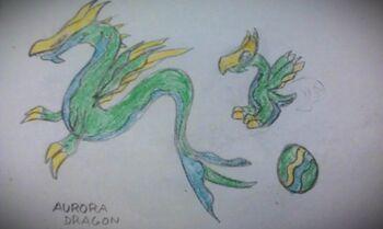 Aurora Borealis Dragon