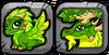 Summer Seasonal Dragon Icon