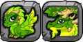 Summer Seasonal Dragon Icon