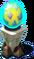 Crystal Twin Pedestal
