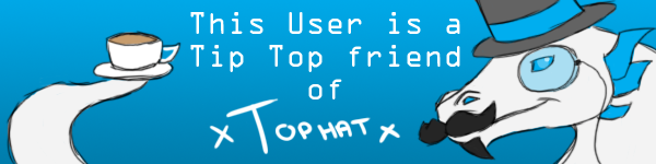 Tophat Friend Badge