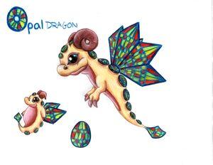 WTL Opal Dragon