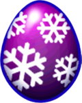 Blizzard Dragon Egg