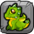Peridot Dragon Baby Icon