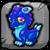 Sapphire Dragon Baby Icon