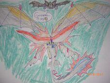 Stormcutter&ToothlessFightingOnAFish