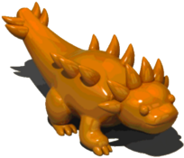 BrownDragonFigurine
