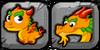 Pepper Dragon Icon