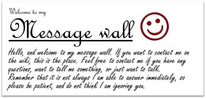 MessageWallGreeting NemiS