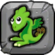 Plant Dragon Baby Icon