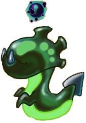 Rendered Acid dragon baby