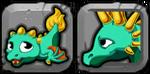 Liberty Dragon Icon