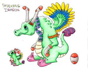 Stocking Dragon