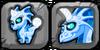Blue Moon Dragon Icon