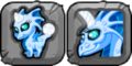 Blue Moon Dragon Icon