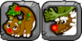 Reindeer Dragon Icon