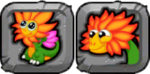 Flower Dragon Icon