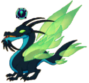 Rendered wraith dragon