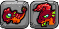 Garnet Dragon Icon