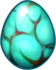 Turquoise Dragon Egg