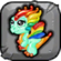 Glass Dragon Baby Icon