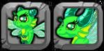 Emerald Dragon Icon