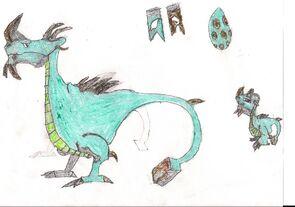 Thorn Dragon Art