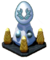 Snowy Silver Pedestal
