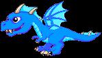 BlueFireDragonJuvenile