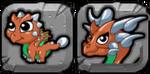 Copper Dragon Icon