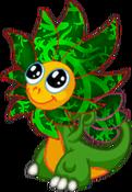 FlowerDragonPlantRiftBaby