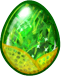 Peridot Dragon Egg