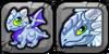 Silver Dragon Icon