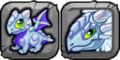Silver Dragon Icon