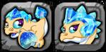 Diamond Dragon Icon