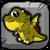 Cyclops Dragon Baby Icon