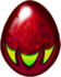 Garnet Dragon Egg