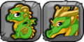 Celtic Dragon Icon